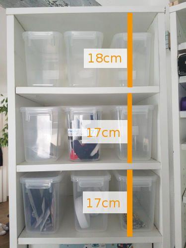 Caisson gauche - Boîtes plastique HAUT